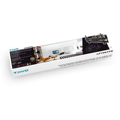 SOPORTE MONITOR/TV TOOQ LP7063TN-B 32''/63'' MAX.60KG NEGRO | Quonty.com | LP7063TN-B