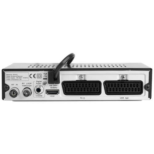 REPRODUCTOR MULTIMEDIA WOXTER I-BOX 300 FULLHD USB2.0 HDMI | Quonty.com | M026-006