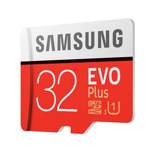 MICROSD SAMSUNG EVO+ 32GB CL10 UHS-1 ADAPTADOR SD   Quonty.com   MB-MC32GA/EU