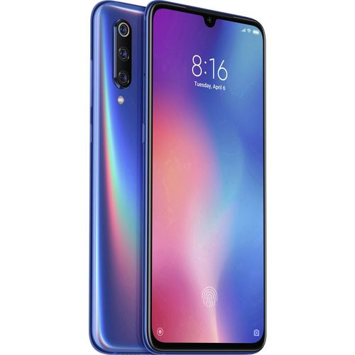 XIAOMI MI 9 6.39''FHD+ OC 6GB/128GB 4G DUAL-SIM A9.0 BLUE | Quonty.com | MZB7436EU
