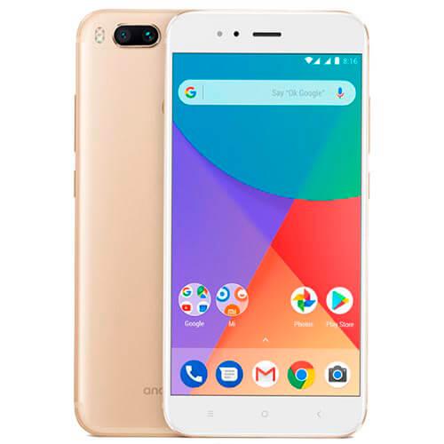 "SMARTPHONE XIAOMI MI A1 5.5""FHD OCTACORE 4GB/64GB 4G-LTE 5/2X12MPX A7.1.2 WHITE/GOLD | Quonty.com | MSM8953-464-WG"