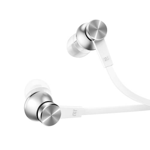 AURICULARES XIAOMI MI IN-EAR HEADPHONES BASIC JACK3.5 PLATA | Quonty.com | ZBW4355TY