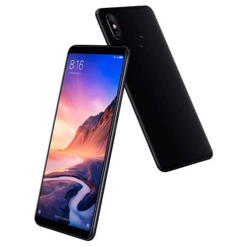XIAOMI MI MAX 3 6,9''FHD+ 4GB/64GB 4G-LTE 8/12+5MPX BLACK | Quonty.com | MZB6539EU