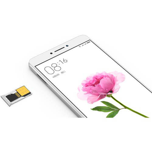 SMARTPHONE XIAOMI MAX 6,44''FHD HEXACORE 3GB/32GB 4G-LTE 5/16MPX DUALSIM A6.0 BLANCO/GRIS | Quonty.com | MIMAX-GREY