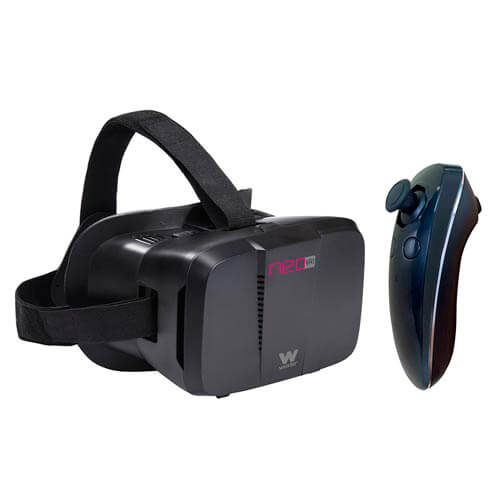 GAFAS 3D REALIDAD VIRTUAL SMARTPHONE WOXTER NEO VR1 BLACK KIT | Quonty.com | MV26-207