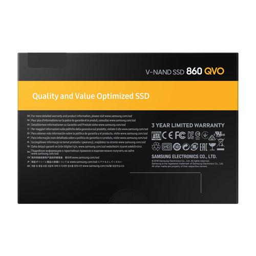 Ssd Samsung 2.5'' 2tb Sata3 860 Qvo | Quonty.com | MZ-76Q2T0BW