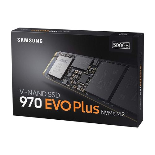Disco Duro Ssd Samsung M.2 500gb Pcie3.0 970 Evo Plus   Quonty.com   MZ-V7S500BW