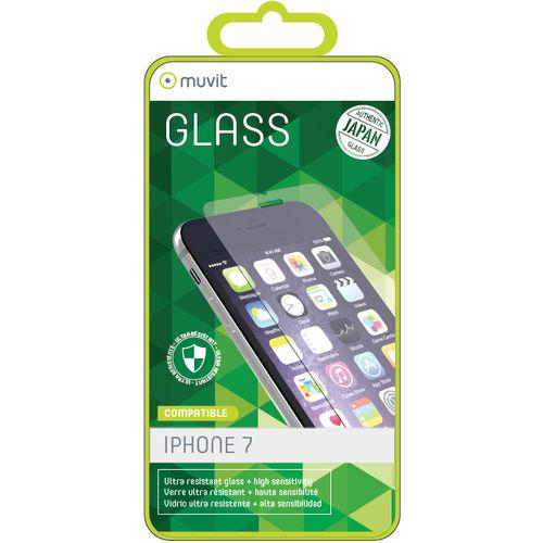 Protector De Pantalla Muvit Vidrio Templado 0.3mm Iphone 8/7 | Quonty.com | MUTPG0168
