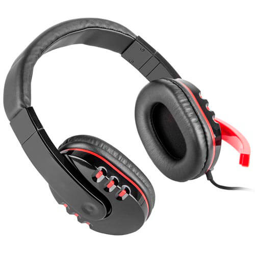 AURICULARES C/MICROFONO GENESIS HM12X GAMING MINI JACK 3.5 | Quonty.com | NSG-0679