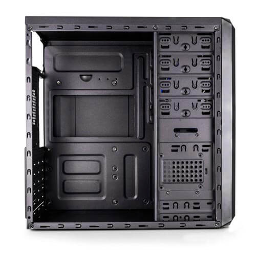 Caja Semitorre/Atx Nox Coolbay Rx Usb3.0 Metal   Quonty.com   NXCBAYRX