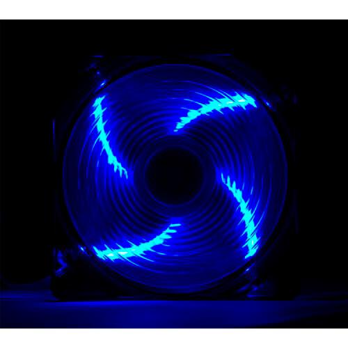 NOX COOL FAN 12CM 1.200RPM LEDS-AZULES | Quonty.com | NXCFAN120LBL