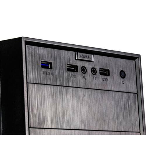 CAJA MINITORRE/MICRO-ATX NOX FORTE USB3.0 METAL | Quonty.com | NXFORTE