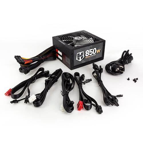 FUENTE NOX HUMMER 850W PFCA 80+BRONZE MODULAR ATX | Quonty.com | NXHM850BZ