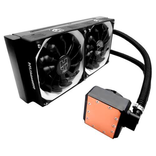 REFRIGERADOR CPU NOX LIQUIDA HUMMER H240L 2X12CM   Quonty.com   NXHUMMERH240L