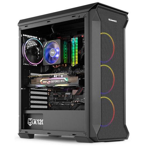 Caja Torre/Atx Nox Hummer Quantum S/Fuente Usb3.0 Negra Argb   Quonty.com   NXHUMMERQUANTUM