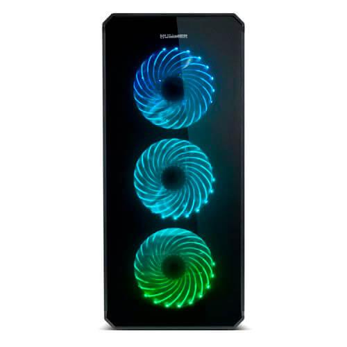 CAJA TORRE/E-ATX NOX HUMMER TGX USB3.0 LED-MULTI | Quonty.com | NXHUMMERTGX