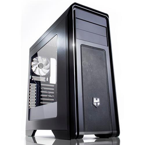 CAJA SEMITORRE/ATX NOX HUMMER ZX USB3.0 CONTROL VENTILADORES | Quonty.com | NXHUMMERZX