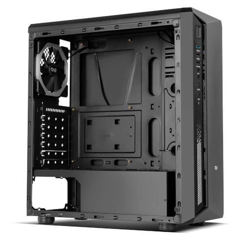 CAJA SEMITORRE/ATX NOX INFINITY ATOM S/FUENTE USB3.0 RGB | Quonty.com | NXINFTYATOM