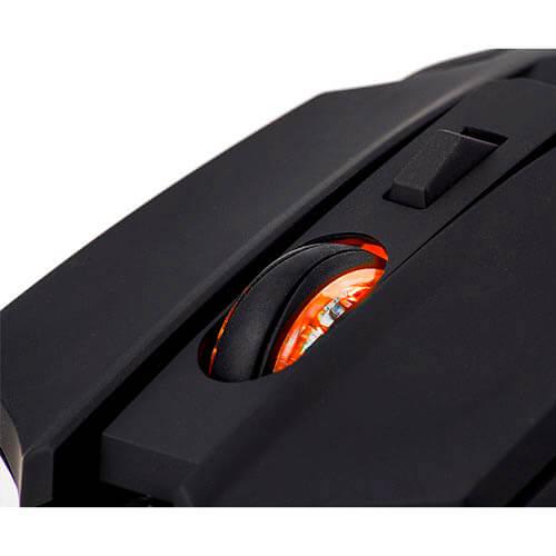 RATON NOX KHANDA KROM GAMING OPTICO 500-4000DPI USB LED   Quonty.com   NXKROMKHND