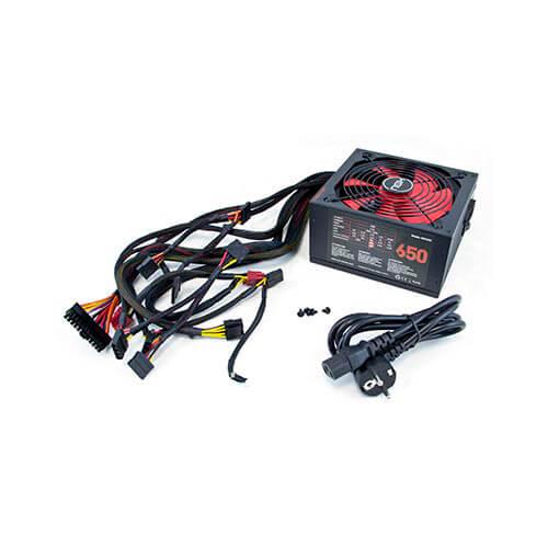 Fuente Nox Nx 650w Pfc-Activo 87+ 14cm Atx | Quonty.com | NXS650