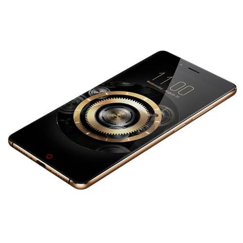 SMARTPHONE NUBIA Z11 5,5''FHD QUADCORE 6GB/64GB 4G 8/16MPX A6.0 DUALSIM NEGRO/ORO | Quonty.com | NX531J
