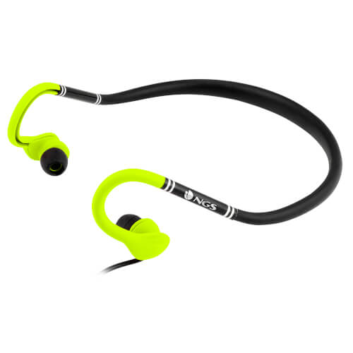 AURICULARES DEPORTIVOS NGS YELLOW COUGAR | Quonty.com | COUGARYELLOW