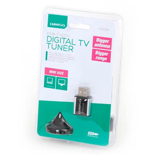 RECEPTOR OMEGA OUDT3A DVB-T NANO MPEG-4 H.264 AVC HD USB2.0 | Quonty.com | OUDT3A