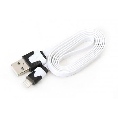 CABLE USB OMEGA USB2.0 A/M - LIGTHNING 1,0M BLANCO | Quonty.com | OUIPLW