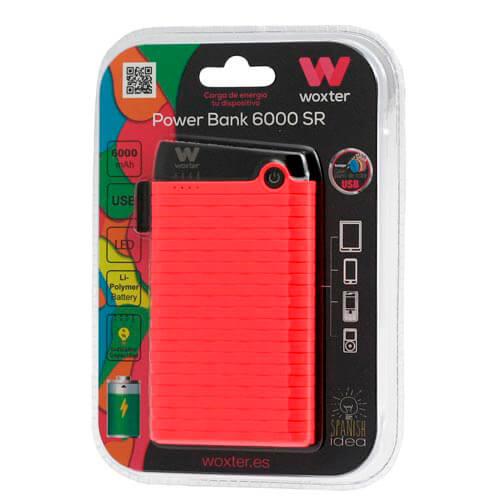 POWERBANK WOXTER 6000 SR ROSA | Quonty.com | PE26-128