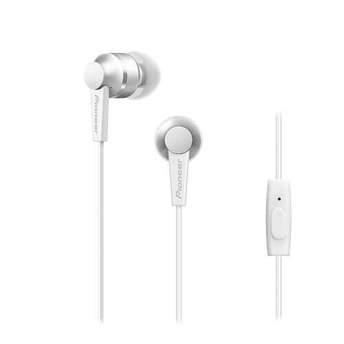 Auriculares Intrauditivos Con Micrófono Pioneer Se-C3t-W | Quonty.com | SE-C3T-W