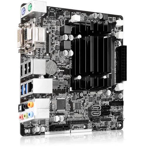 PLACA ASROCK Q1900-ITX CPUINBOARD 2DDR3 VGA SATA3 USB3.0 MINI-ITX | Quonty.com | Q1900-ITX
