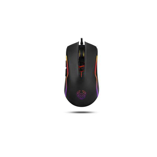 Raton Nox Krom Khan Gaming Optico 4000dpi Usb Led Negro | Quonty.com | NXKROMKAHN
