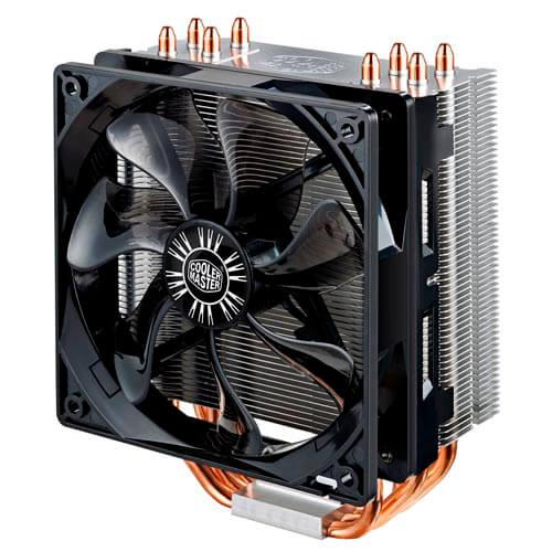 REFRIGERADOR CPU COOLER MASTER HYPER 212 EVO MULTI INTEL/AMD | Quonty.com | RR-212E-16PK-R1