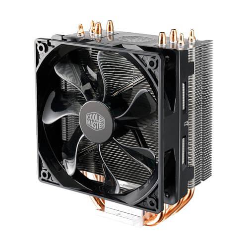 Refrigerador Cpu Cooler Master Hyper 212 Intel Amd Led-Rojo | Quonty.com | RR-212L-16PR-R1