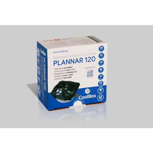 Refrigerador Cpu Coolbox Plannar Intel/Amd | Quonty.com | COO-VCP120-PWM