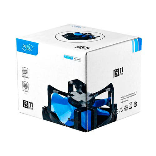 REFRIGERADOR CPU DEEPCOOL BETA11 AM2/AM3 AMD | Quonty.com | BETA11