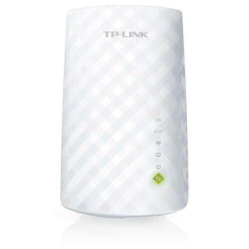 REPETIDOR TP-LINK RE200 WIFI-AC/750MBPS DUALBAND WPS 1RJ45 | Quonty.com | RE200