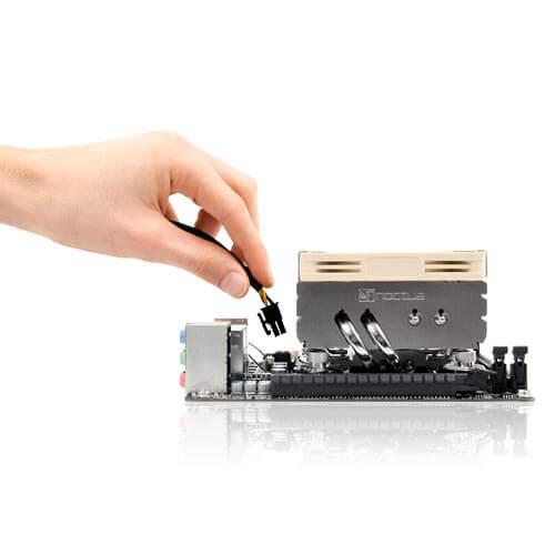 REFRIGERADOR CPU NOCTUA NH-L9X65 MULTISOCKET INTEL/AMD PERFIL BAJO   Quonty.com   NH-L9X65
