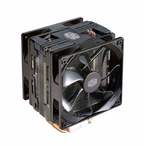 Refrigerador Cpu Cooler Master Hyper 212 Turbo Led Intel/Amd   Quonty.com   RR-212TK-16PR-R1