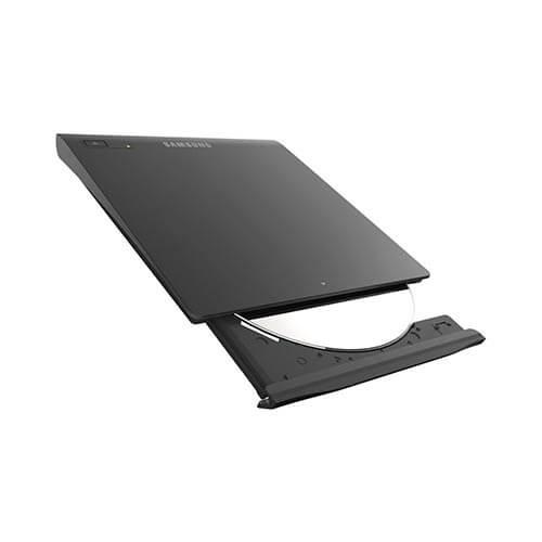 REGRABADORA DVD EXTERNA SAMSUNG SE-208GB/RSBD USB2.0 SLIM NEGRA | Quonty.com | SE-208GB/RSBD