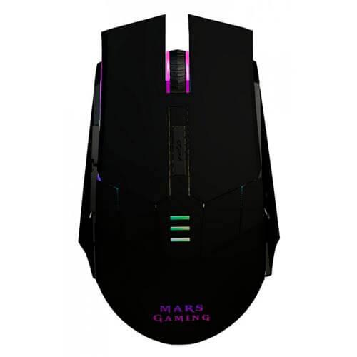Raton Tacens Mars Mm116 Gaming Optico 3200dpi Usb Led-Rgb   Quonty.com   MM116
