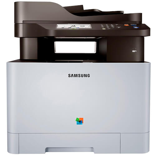 MULTIFUNCION SAMSUNG CON FAX LASER COLOR SL-C1860FW ETHERNET WIFI NEGRO 18PPM/COLOR 18PPM | Quonty.com | SL-C1860FW