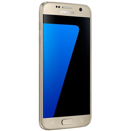 SMARTPHONE SAMSUNG GALAXY S7 BLANCO 5.1''IPS OCTACORE 4GB/32GB 4G 5/12MPX 1SIM A4.1 GOLD | Quonty.com | SM-G930FZDAPHE