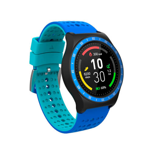 Reloj Inteligente Smartee Pop Spc 9625a 1.30'' Pusómetro | Quonty.com | 9625A
