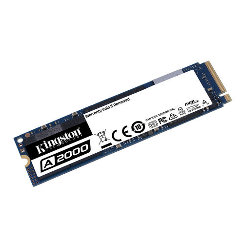 Ssd Kingston M.2 250gb Pcie3.0 A2000 2000/1100mbps | Quonty.com | SA2000M8/250G