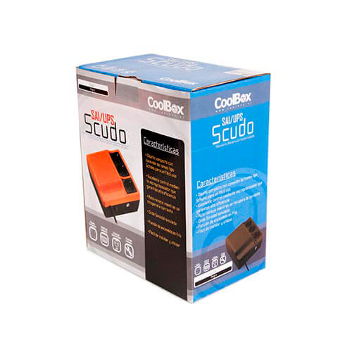 SAI 600VA COOLBOX SCUDO NEGRO   Quonty.com   SAICOOSC600B