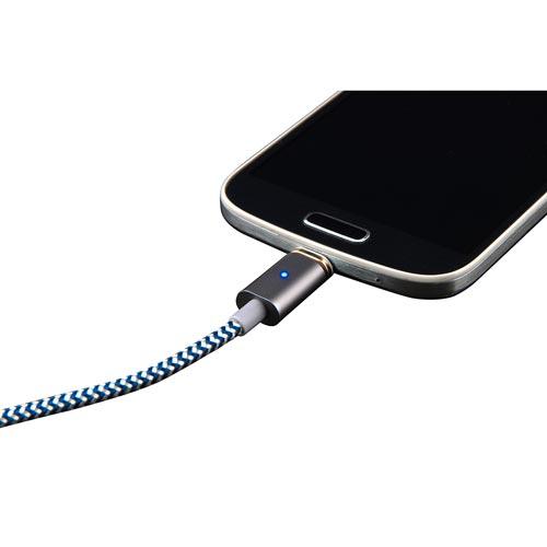 CABLE USB BLUESTORK USB2.0 A/M - MICRO USB2.0 B/M 1.2M NEGRO | Quonty.com | SMART-MU-MAG