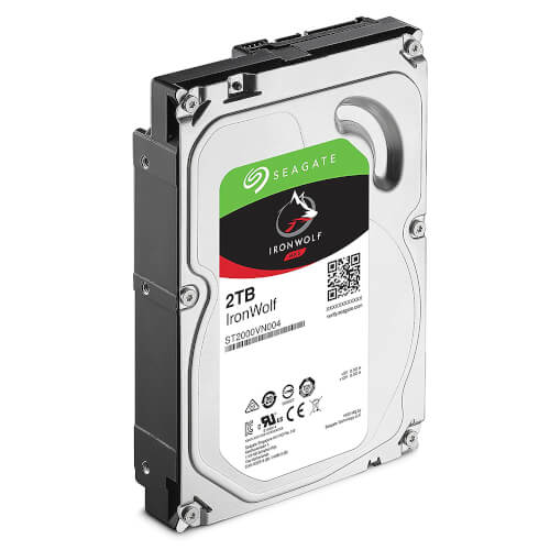 "Hdd Seagate Nas Ironwolf 3.5"" 2tb 5900rpm 64mb 