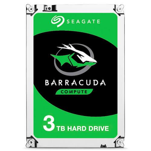 Hdd Seagate 3.5'' 3tb 7200rpm 256mb Sata3 Desktop Barracuda | Quonty.com | ST3000DM007