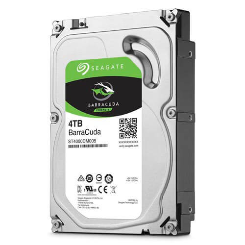 HDD SEAGATE 3.5'' 4TB 5900RPM 64MB SATA3 DESKTOP BARRACUDA | Quonty.com | ST4000DM005